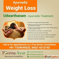 Ayurvedic Weight Loss Treatment in Coimbatore
