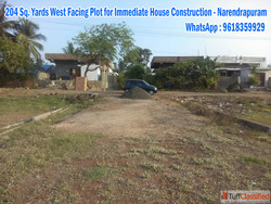 East Facing 170 Sq. Yards.Open Plot for immediate Constructi...