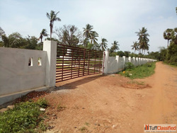 DTCP Approved Home Plots Airport Road - Burugupud
