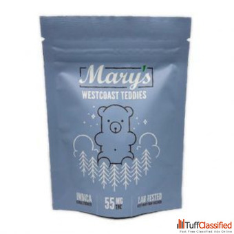 Mary's Medibles Westcoast Teddies Extra Strength 55mg Indica