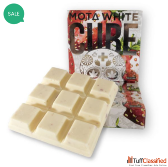 MOTA Whites – Chocolate CBD Cubes