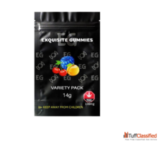 Exquisite Gummies – Variety Pack – 100mg