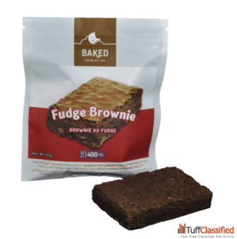 Fudge Brownie – 400mg