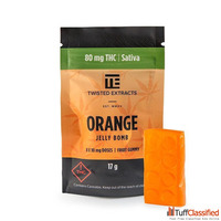 Twisted Extracts Orange Jelly Bomb THC