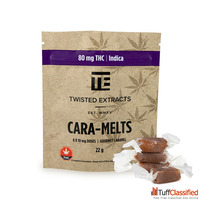 Twisted Extracts – Cara-Melts – Indica 80MG