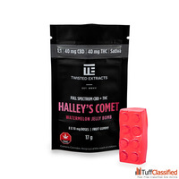 Twisted Extracts – 1:1 Halleys Watermelon Jelly Bomb– 40mg T...