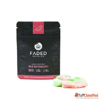 Faded Edibles | Wild Watermelons | 180mg THC