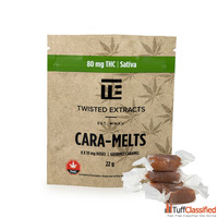 Twisted Extracts | Cara-Melts | Sativa | 80mg THC
