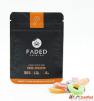 FADED EDIBLES – SOUR SUCKERS