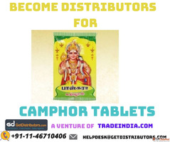 Become Camphor Distributors