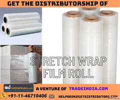 Get the Distributorship of stretch wrap film roll