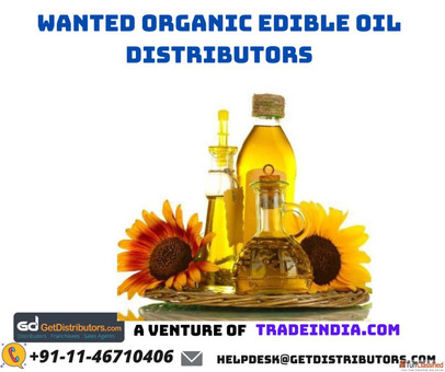 Wanted Organic Edible Oil Distributors