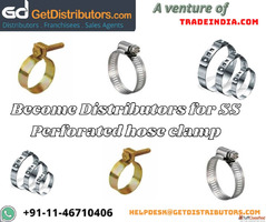 Become Distributors for SS Perforated hose clamp