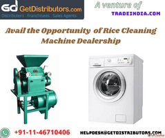 Avail the Opportunity of Rice Cleaning Machine Dealership