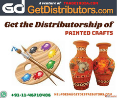 Get the Distributorship of Painted Crafts