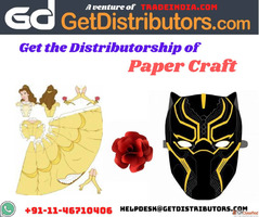 Get the Distributorship of Paper Craft