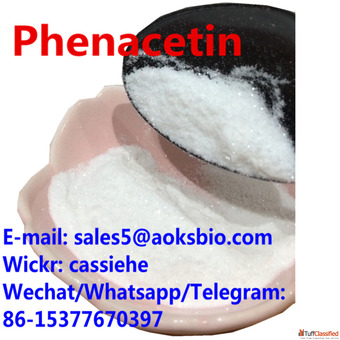 Shiny Phenacetin Powder China Supplier with 100% Guarantee shipping to Canada/USA/UK