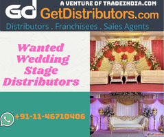 Wanted Wedding Stage Distributors