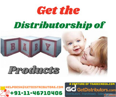 Get the Distributorship of Baby Products