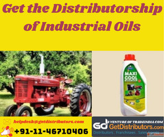 Get the Distributorship of Industrial Oils