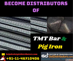 Become TMT Bar Distributors