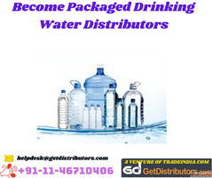 Become Packaged Drinking Water Distributors