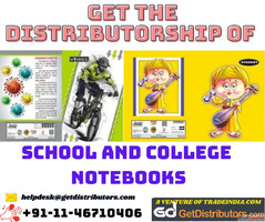 Get the Distributorship of School and College Notebooks