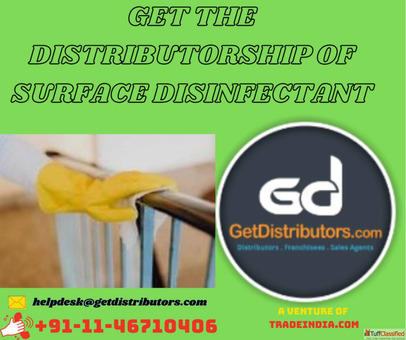 Get the Distributorship of Surface Disinfectant