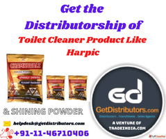 Get the Distributorship of Toilet Cleaner Product Like Harpi...