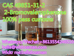Hot sale! in stock CAS49851-31-2 2-BROMO-1-PHENYL-PENTAN-1-O...