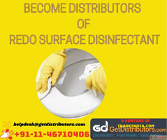 Become Distributors of REDO SURFACE DISINFECTANT