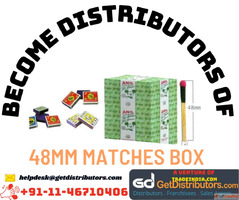 Become Distributors of 48mm Matches Box