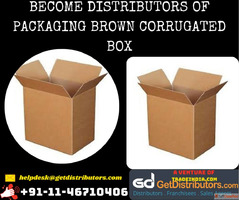 Become Distributors of Packaging Brown Corrugated Box