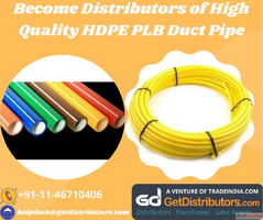 Become Distributors of High Quality HDPE PLB Duct Pipe