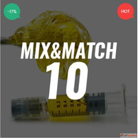 So High THC Distillate Mix and Match – 10