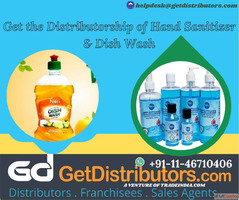 Get the Distributorship of Hand Sanitizer & Dish Wash