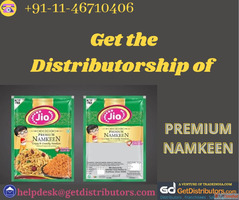 Get the Distributorship of Premium Namkeen