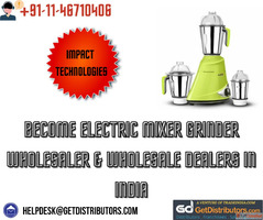 Become Electric Mixer Grinder Wholesaler & Wholesale Dea...