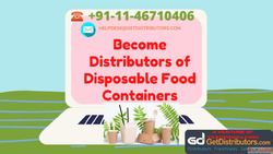 Become Distributors of Disposable Food Containers