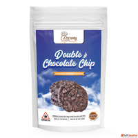 Dreamy Delite Double Chocolate Chip Canna Cookies 200mg THC