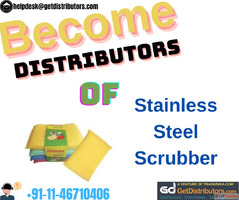 Become Distributors of Stainless Steel Scrubber