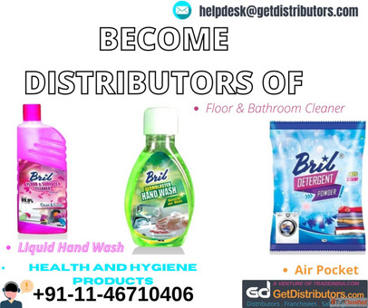 Become Distributors of Health And Hygiene Products