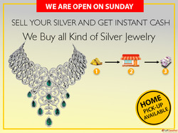 Cash For Silver In Delhi NCR| Silver Buyer Near Me
