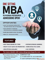MBA in HR Degree in One Sitting!