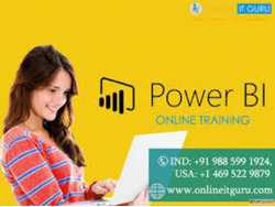Power BI Online Training India | power bi training | OnlineI...