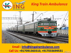 Get King Fastest Train Ambulance from Patna to Mumbai for Be...