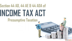 Presumptive Income Tax Filing in India