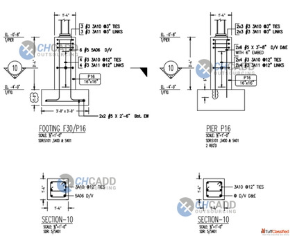 Steel fabrication shop drawings Services - CHCADD Outsourcing