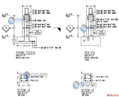Steel fabrication shop drawings Services - CHCADD Outsourcin...