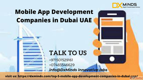 Mobile App Development Companies in Dubai UAE